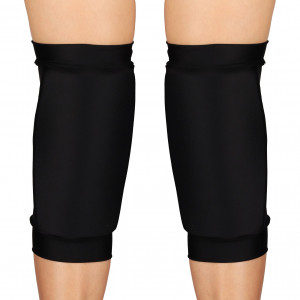 Наколенники для танцев и гимнастики INDIGO NORA SM-377 бифлекс черные