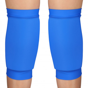 Наколенники для танцев и гимнастики INDIGO NORA SM-377 бифлекс синие