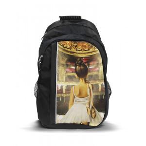 Рюкзак с принтом Балерина
