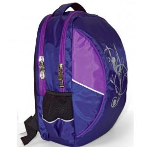 Рюкзак с гимнасткой синий/фиолетовый